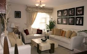Living Room With Leather Sofa Apartment Appealing Small Living Room Decorating Ideas Using