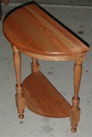 clayborne s amish furniture half moon table