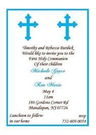 communion invitations for boys communion invitations blue boy cross communion