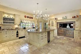 White Kitchen Tile Floor 43 New And Spacious Light Wood Custom Kitchen Designs