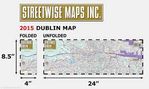 Map Of Dublin Ireland Streetwise Dublin Map Laminated City Center Street Map Of Dublin