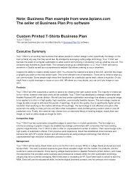 sample business plan executive summary laobingkaisuo com baker