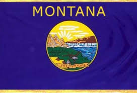 Montana State Flag Montana By Britney Joines