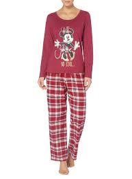 womens disney minnie mouse pyjama set tu clothing