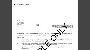 bbc example affinion claim letter