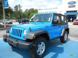 black and teal jeep 2011 cosmos blue jeep wrangler rubicon 4x4 65970478 gtcarlot