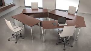 Crest Office Furniture Nucraft Agility Tables Create More Productive Office Environments