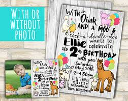 animal birthday etsy