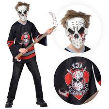 Boys Halloween Shirt by Kids Teens Bloody Face Off Horror Halloween Zombie Costume