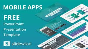 Mobile Apps Free Powerpoint Presentation Theme Free Ppt