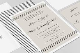 classic wedding invitations alden classic wedding invitation fresh and modern wedding