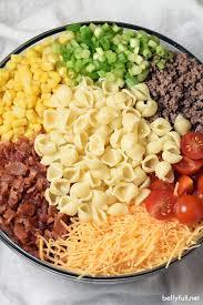 pasta salad recipes cold cowboy pasta salad