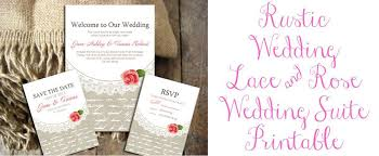 rustic wedding invitation templates rustic wedding invitation suite printable rustic wedding chic