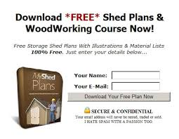 Free Wood Shed Plans Materials List by Crav