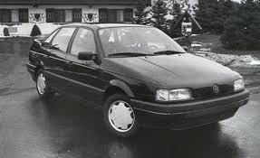 black volkswagen passat 2017 1990 volkswagen passat gl archived instrumented test reviews