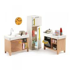 kitchen dollhouse furniture kitchen dollhouse furniture petit home range by djeco