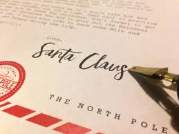 letters from santa claus letters from santa fundraiser mesilla valley collective