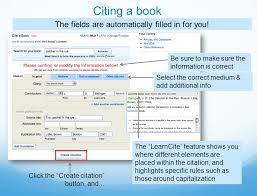 citing a manual instructional guide how does easybib make research easier