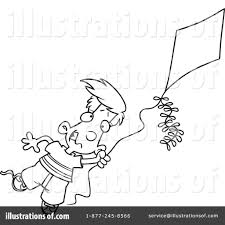 kite clipart 438975 illustration by toonaday
