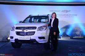 chevrolet trailblazer 2015 chevrolet trailblazer suv brought to india for r u0026d edit now