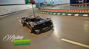 sariel pl mustang technic rc ford mustang gymkhana youtube