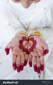 carved bridal muslim bridal henna stock photo 603442634