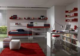 bedroom charming bedroom office with single bed also stripe