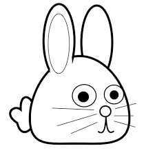 spring bunny coloring free printable coloring pages
