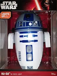 wars r2 d2 3d deco light toys