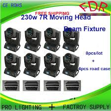 moving head light price india 8pcs lot flight case 7r beam sharpy light moving light price osram