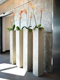 Pedestal Pots Modern Indoor Herb Garden Vessel Peanut Planter With Walnut