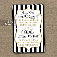 baby shower bring a book instead of a card printable bring a book baby shower insert black gold