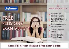 tuteone plus one exam study material