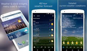 top 6 best android weather widget app 2017 - Best Android Weather Widget