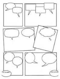 blank comic strip template with characters mesothelioma survival