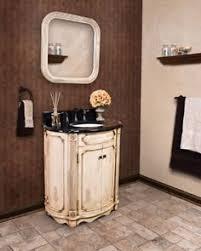 kinkaid halfmoon freestanding wood veneer french country bathroom