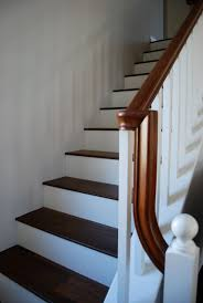 beauteous wooden hardwood stair treads for staircase design with