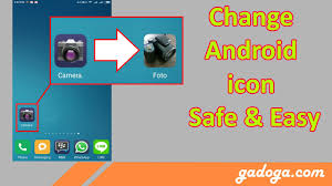 apk icon changer how to change android icon without root without launcher without