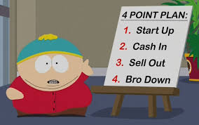 South Park Meme - eric cartman s startup the 4 point plan