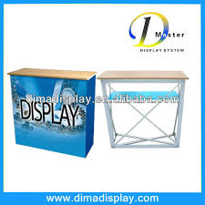 Pop Up Reception Desk Exhibition Booth Table Counter Desk Source Quality Exhibition