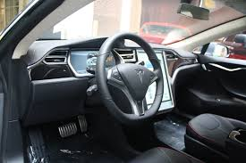 Tesla Interior Model S Tesla Model S 60 Interior 1325 Cars Performance Reviews And