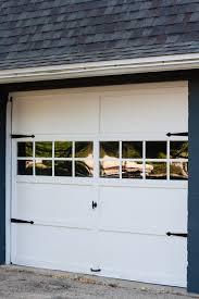 garage door makeover the lilypad cottage
