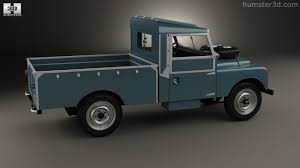 land rover pickup truck 360 view of land rover series i 107 pickup 1958 3d model hum3d store