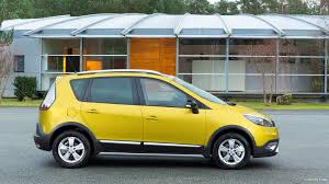 renault yellow 2014 renault scenic xmod fall yellow side hd wallpaper 4