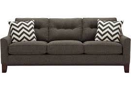 Cindy Crawford Savannah Bedroom Furniture by Picture Of Cindy Crawford Home Hadly Gray Sofa From Furniture 700
