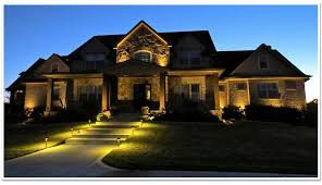 Residential Landscape Lighting Green Lawn Care Atlanta Outdoor Lighting