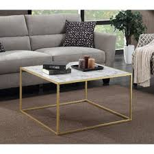 faux marble coffee table convenience concepts gold coast faux marble coffee table