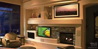 custom media wall u0026 home entertainment center design u2022 dagr design