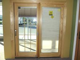 Wood Patio Doors With Built In Blinds by Patio Doors With Built In Blinds For Sale Patio Doors With Built