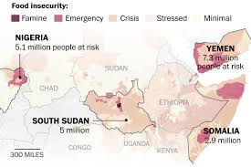 Nigeria State Map by 20 Million People Are At Risk Of Starving To Death Here U0027s How It